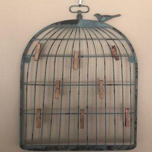 Rustic Birdcage Photo/memoboard